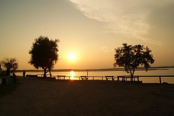 Bibione pineda tramonto