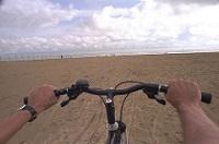Bici in spiaggia Bibione