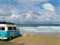 Camper spiaggia