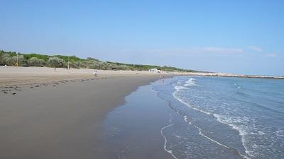 Eraclea mare spiaggia
