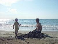 Giocare in spiaggia a Cavallino