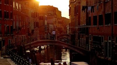 Sole a venezia