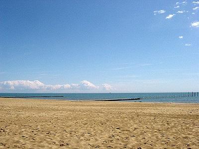 Spiaggia e pontile Jesolo