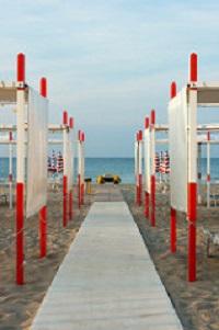 Spiaggia in Romagna