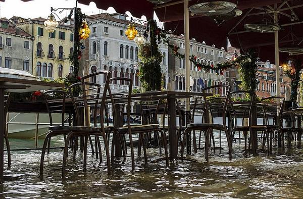 Terrazza locale Venezia