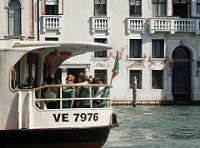Vaporetto turisti Venezia