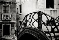 Venezia ponte bianco e nero