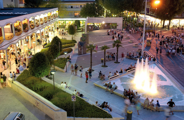 piazza di bibione