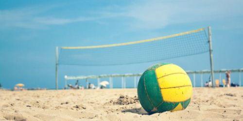 pallone volley spiaggia