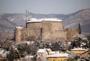 Castello di Gorizia inverno