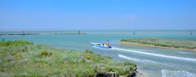 gita in barca nell'adriatico
