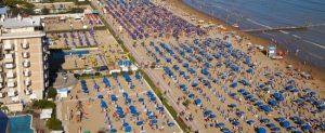 spiaggia hotel jesolo