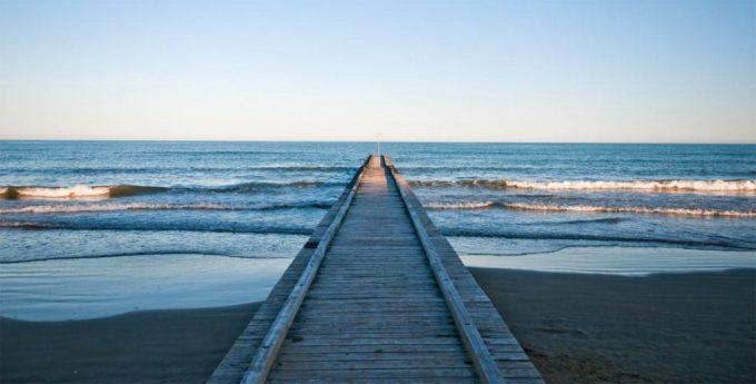 jesolo spiaggia pontile