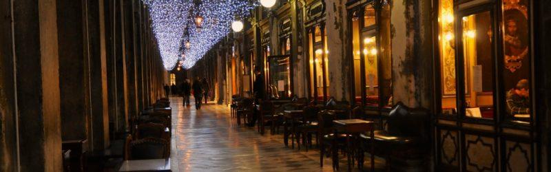 luci di natale a Venezia