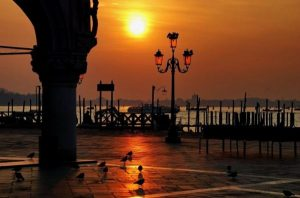 tramonto venezia ferragosto